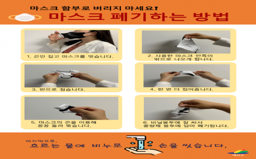 마스크 폐기 방법